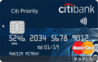 Citi Priority — Дебетовая карта / MasterCard World Black Edition