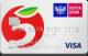 Карта «Пятерочка» — Дебетовая карта / Visa Classic