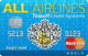 All Airlines — Кредитная карта / Visa Platinum, MasterCard World