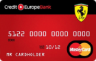 Карта Ferrari — Кредитная карта / MasterCard Standard