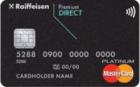 Premium Direct — Дебетовая карта / Visa Platinum, MasterCard Platinum