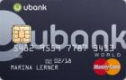 uBank — Кредитная карта / MasterCard World