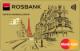 Золотой — Дебетовая карта / Visa Gold, MasterCard Gold