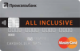 All Inclusive — Дебетовая карта / Visa Platinum, MasterCard World