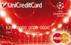 MasterCard UEFA Champions League — Кредитная карта / MasterCard Standard