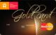 Золотая — Дебетовая карта / Visa Gold, MasterCard Gold