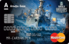 Карта World of Warships — Дебетовая карта / MasterCard World
