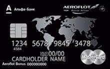 Аэрофлот MasterCard World Black Edition