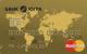 Тариф «Стандартный» Gold — Дебетовая карта / Visa Gold, MasterCard Gold