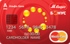М.Видео-Бонус — Дебетовая карта / MasterCard Standard