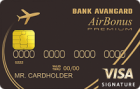 Airbonus Premium — Кредитная карта / MasterCard World Premium, Visa Signature
