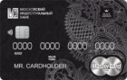 Финансовая независимость Black Edition — Дебетовая карта / MasterCard World Black Edition